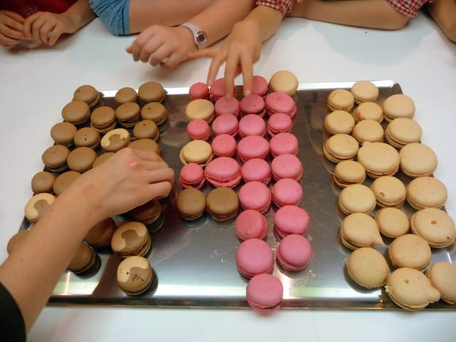 Macarons colorés vacances d'avril, MyGatô