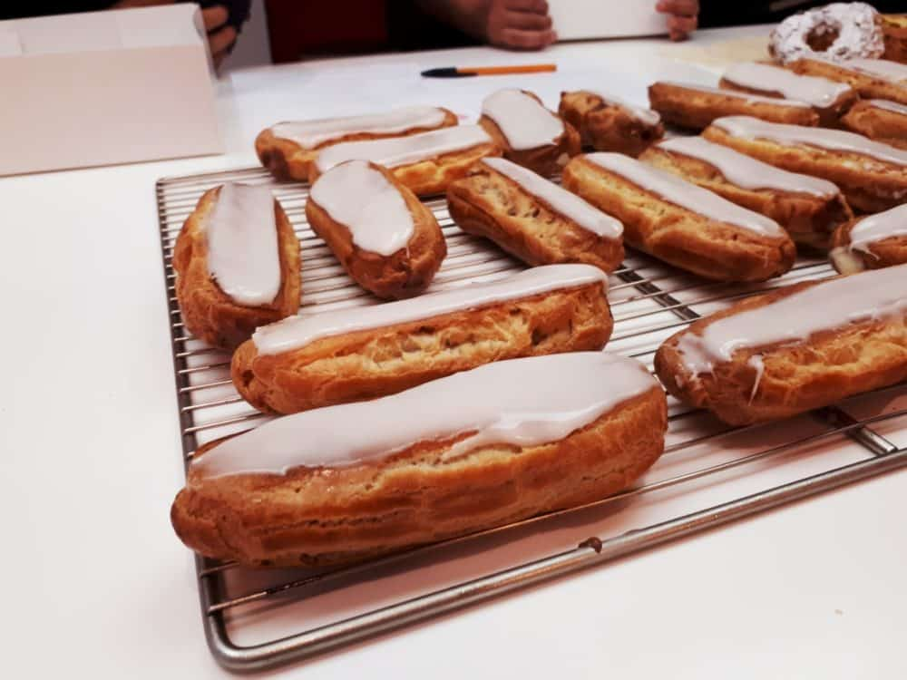 Déroulement d'un atelier pâtisserie Eclairs et Choux chez MYGATÔ