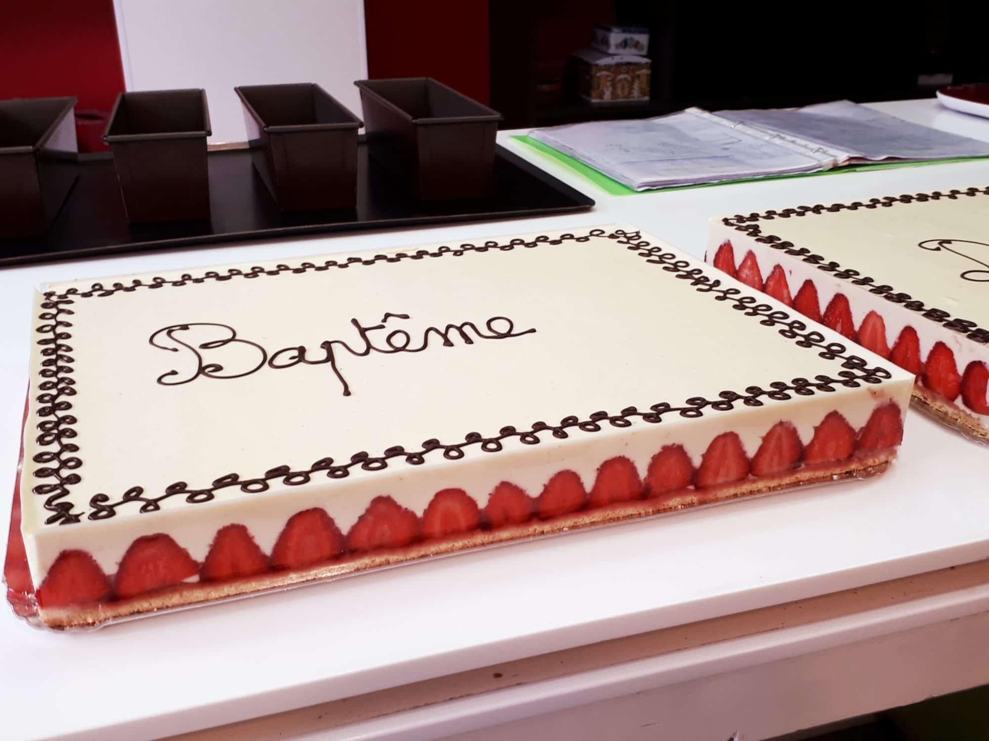 Félicitations pour vos gâteaux !
