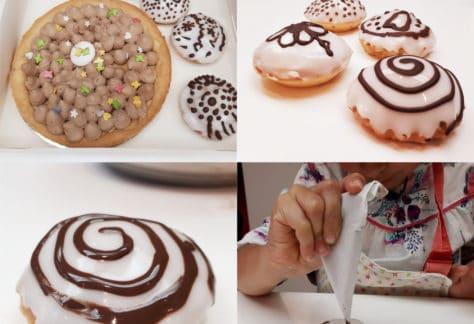Barquettes aux marrons tarte chocolat duo cours pâtisserie MyGatô Lyon