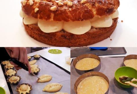 Pâte à brioche et Tropézienne Cours Pâtisserie MyGatô Lyon