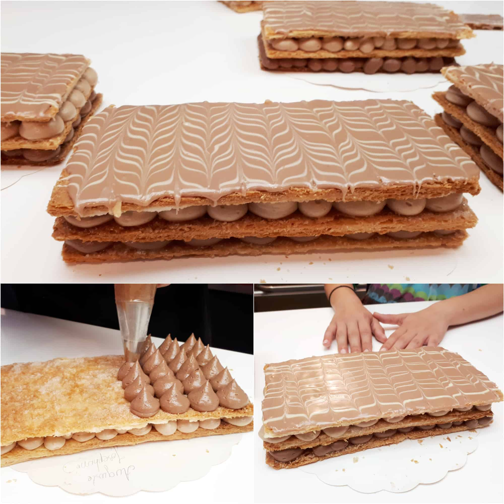 Millefeuille Cours Gourmand Pâtisserie Lyon
