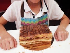 Millefeuille Cours pâtisserie enfant Mygatô Lyon