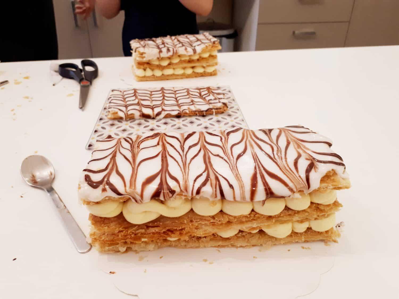 Millefeuille enfant atelier pâtisserie enfant MyGatô Lyon