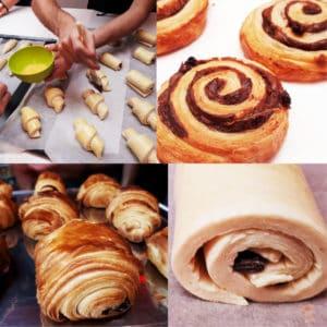Cours viennoiserie Croissants Pâtisserie MyGatô Lyon