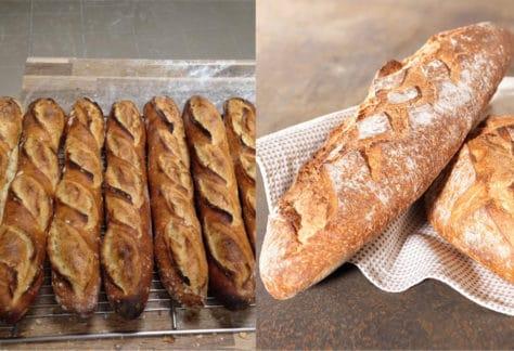Pain de Campagne Baguette Atelier PAIN Boulangerie MyGatô Lyon