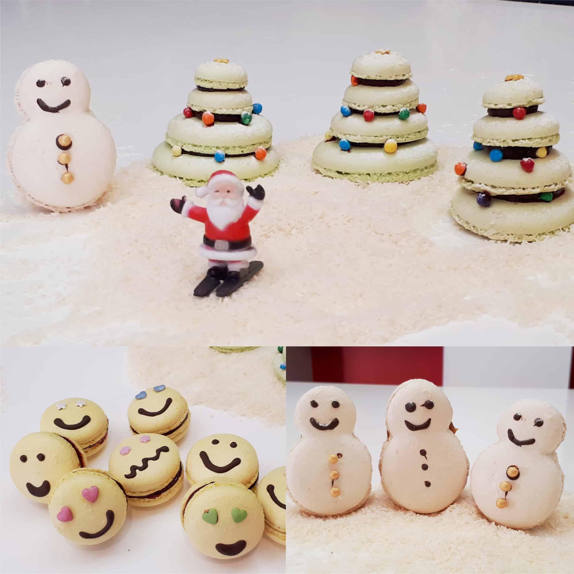 Macarons en fêtes Atelier Pâtisserie MyGatô Lyon