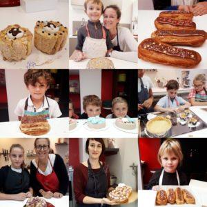 Cours Pâtisserie enfant vacances MyGatô Lyon