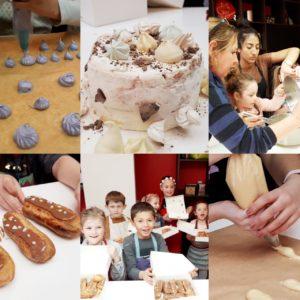 Atelier P'tits chef activité vacances pâtisserie MyGatô Lyon