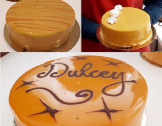 Entremets-Dulcey-Passion-Glaçage-cours-pâtisserie-Lyon